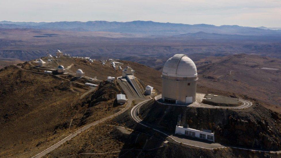Observatorio La Silla.
