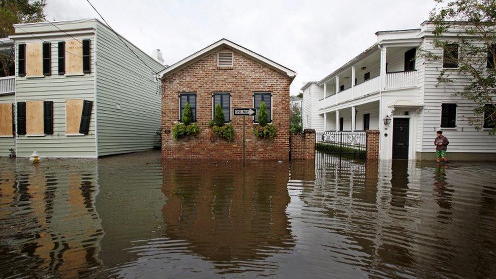 Flooding in Charleston, South Carolina