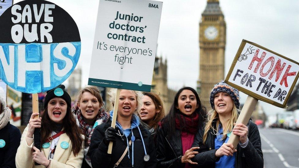Junior doctors lose High Court case