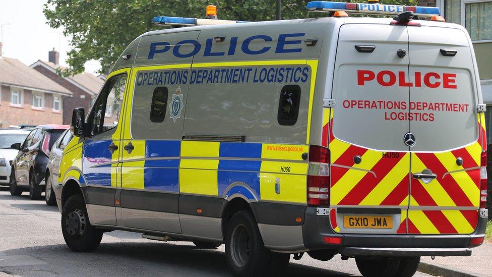 Crawley death: Murder arrest after woman's body found
