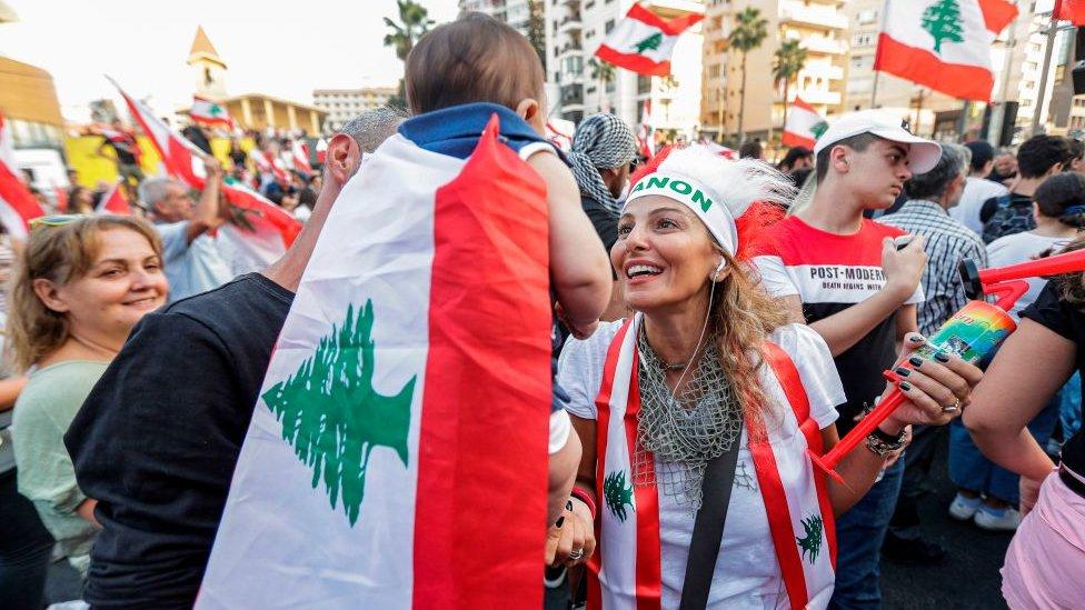 Protesti u Bejrutu