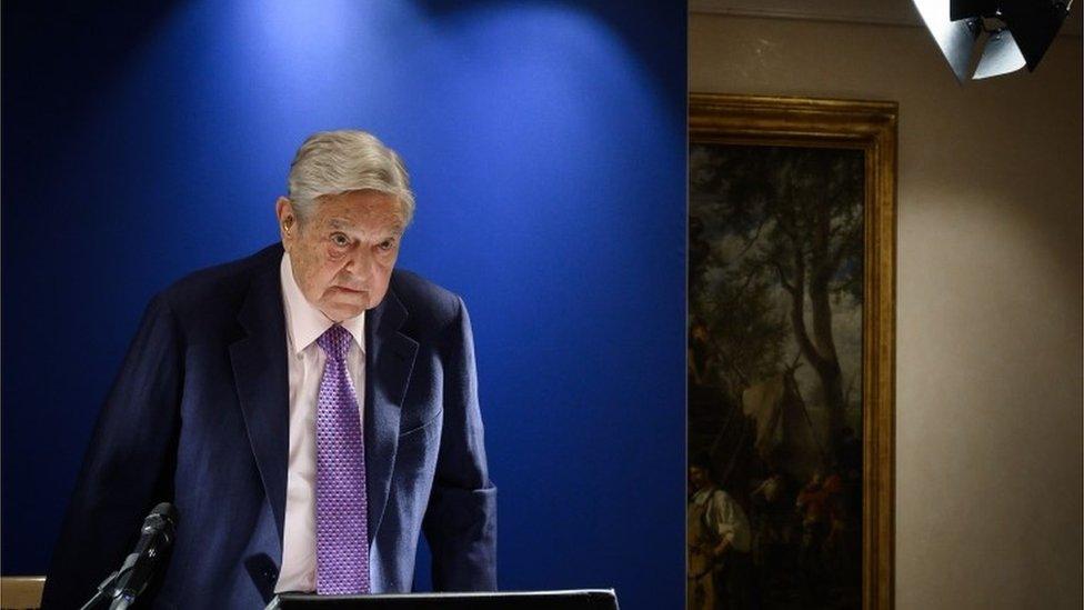 Džordž Soros u Davosu