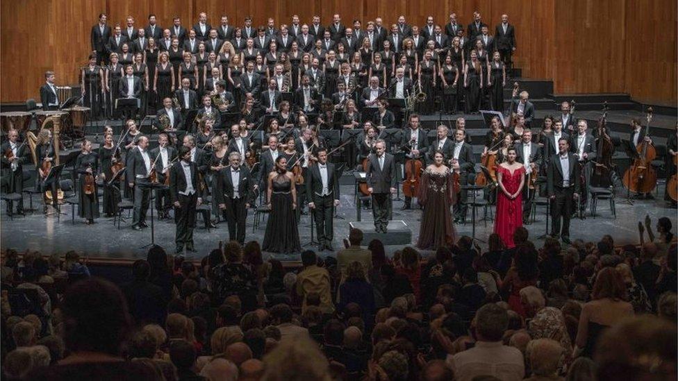 Concierto de Domingo en Salzburgo.