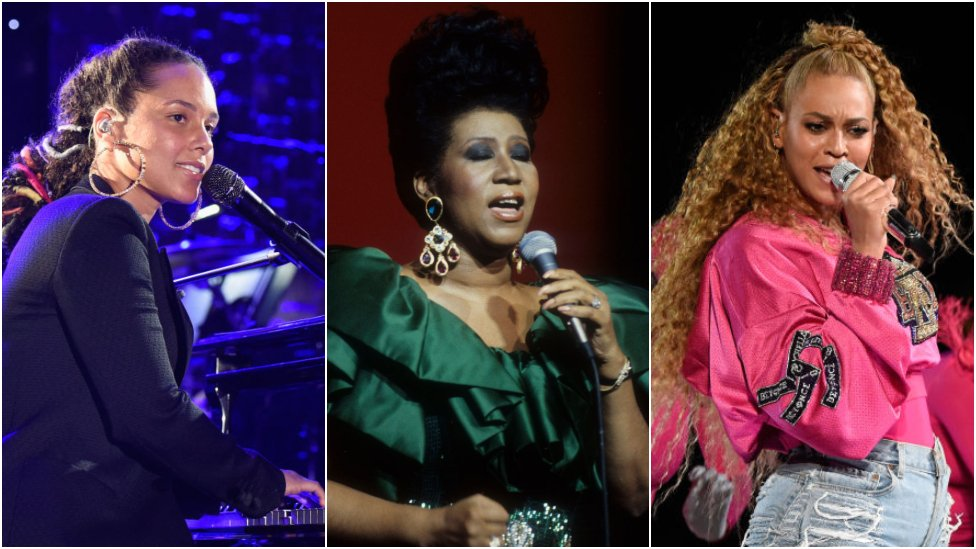 Alicia, Beyonce and other global stars who worshipped Aretha Franklin
