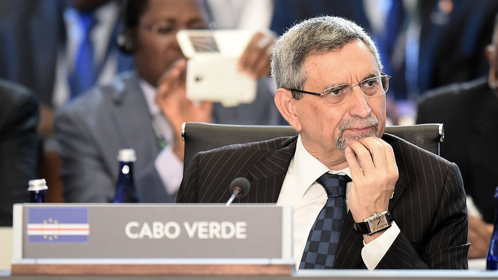 President of Cabo Verde, Jorge Carlos Fonseca