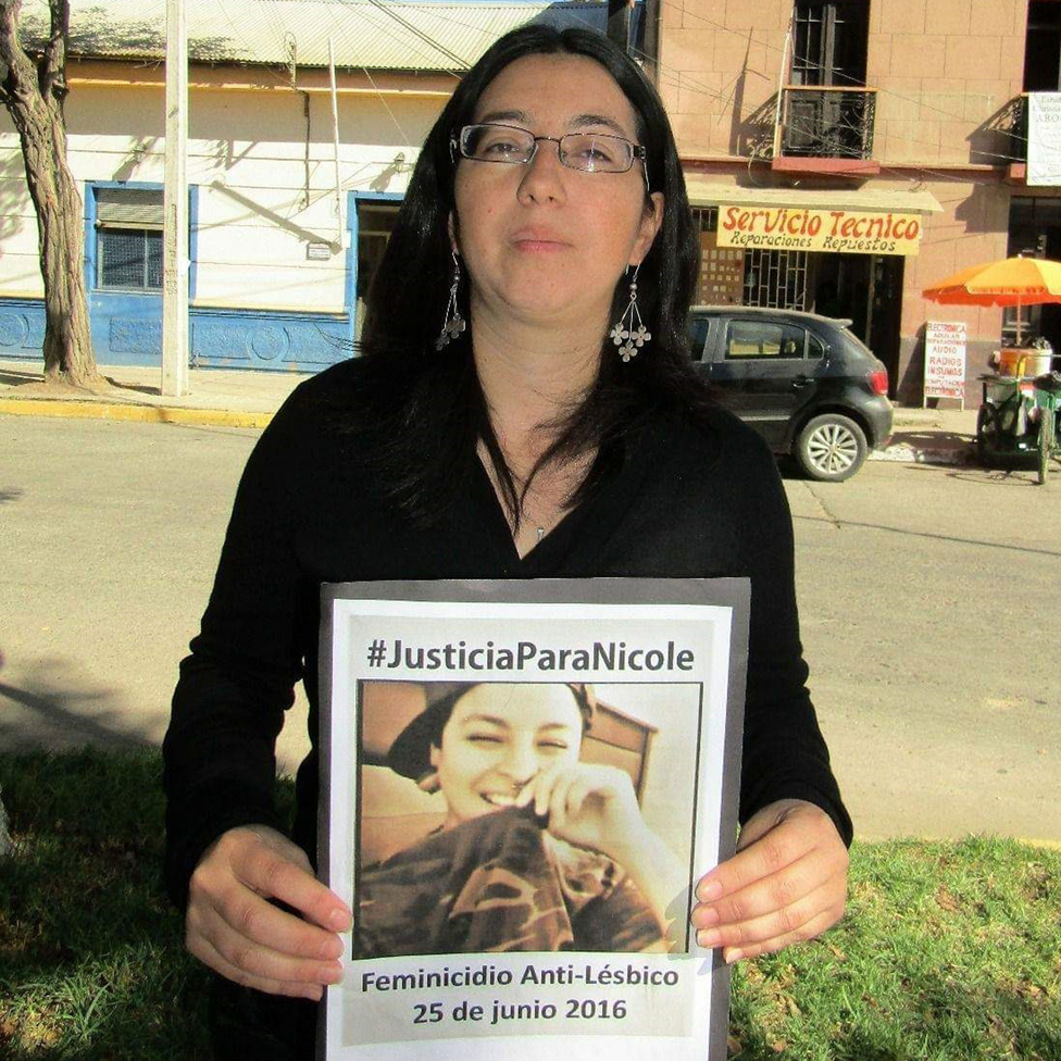 María Bahamondes sigue hoy demandando justicia
