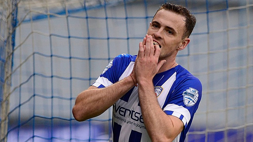 Highlights: Valiant Coleraine bow out of Europe