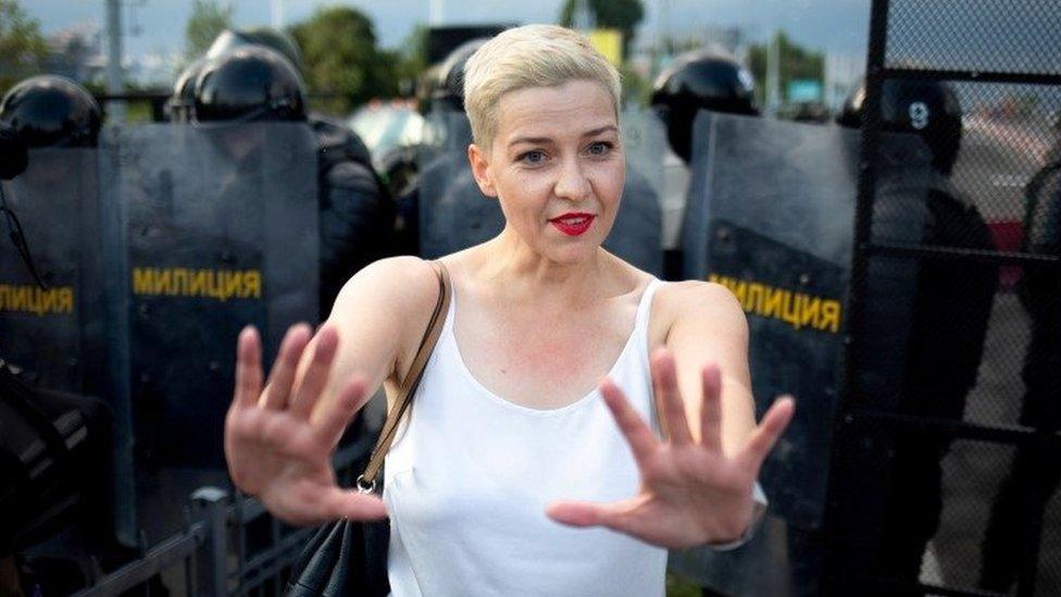 Maria Kolesnikova - 30 August