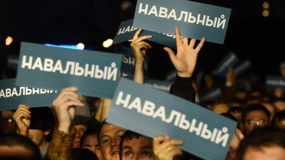 Navalny supporters in Sept 2013