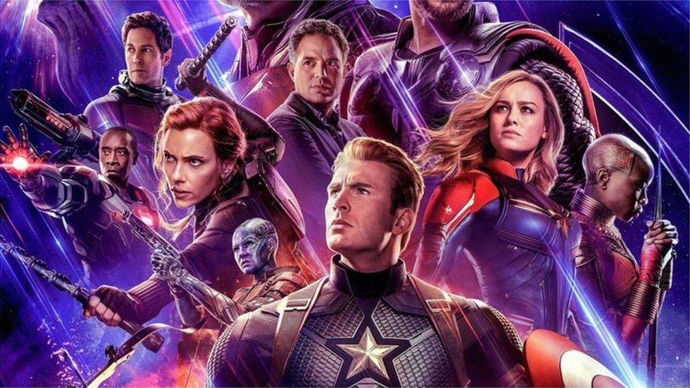 Poster za film Osvetnici: Kraj igre