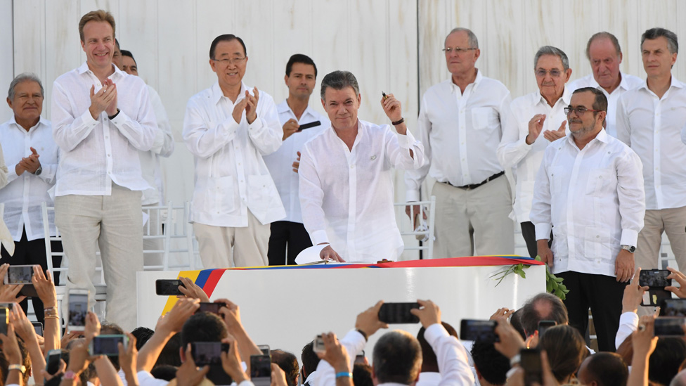 Firma de paz con las FARC