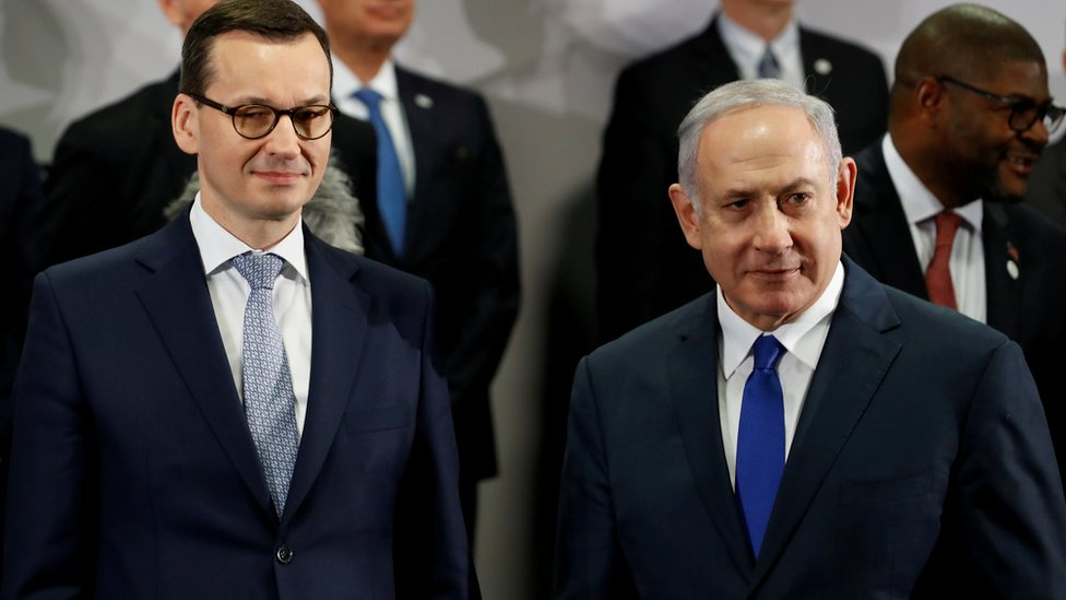 Holocaust: Israel summit scrapped in 'racism' row with Poland