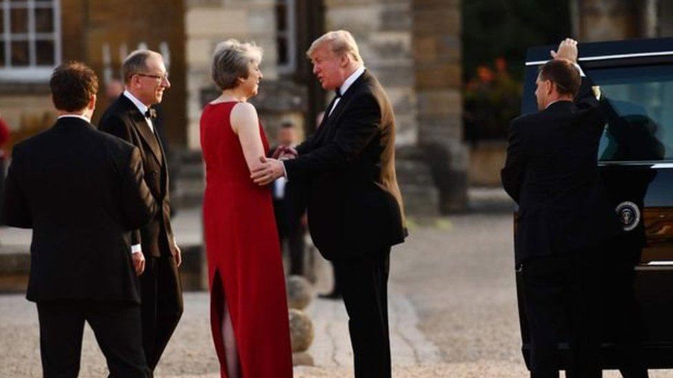 زيارة ترامب لبريطانيا