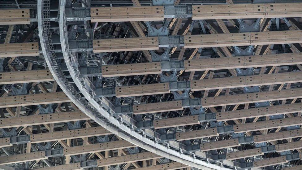 Novi nacionalni stadion u Tokiju izgrađen je od drvenih okvira
