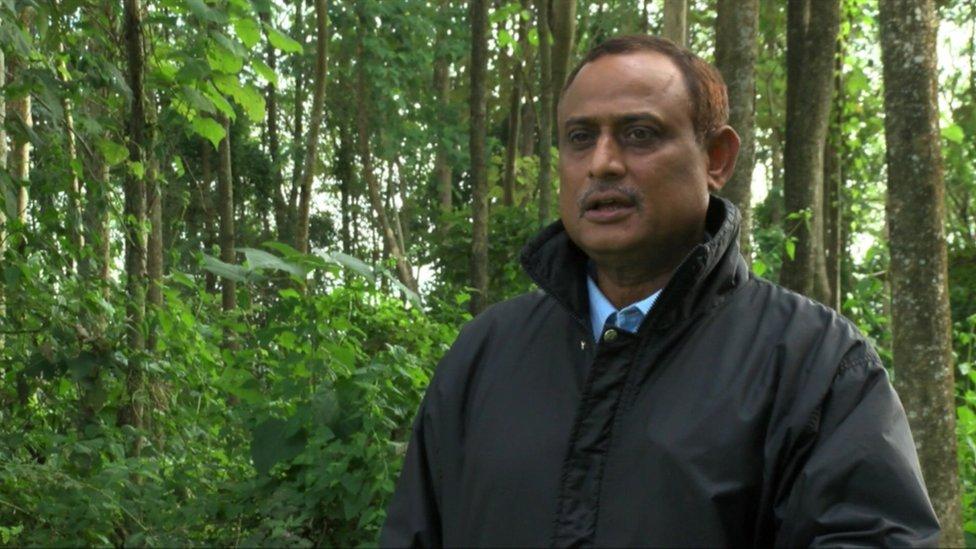 Uralgudi Forest Warden Manash Sharma