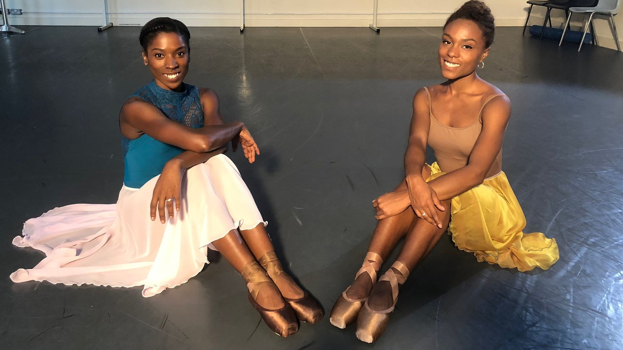 Ballet Black help create shoes for non-white dancers