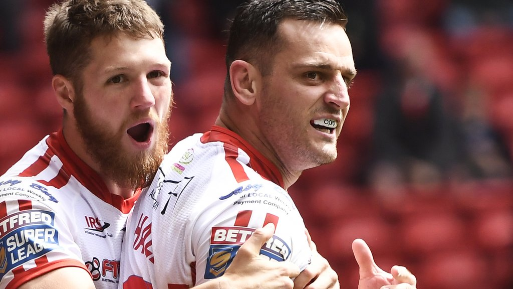 Super League: Salford Red Devils 20-22 Hull Kingston Rovers