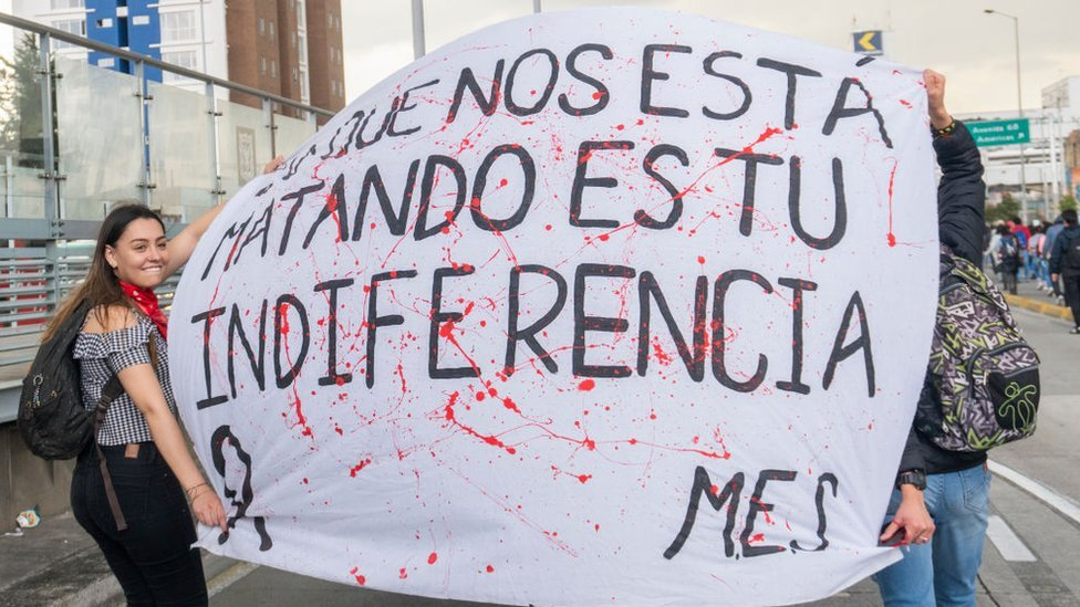 Protesta contra la corrupción en la universidad el pasado mes de octubre.