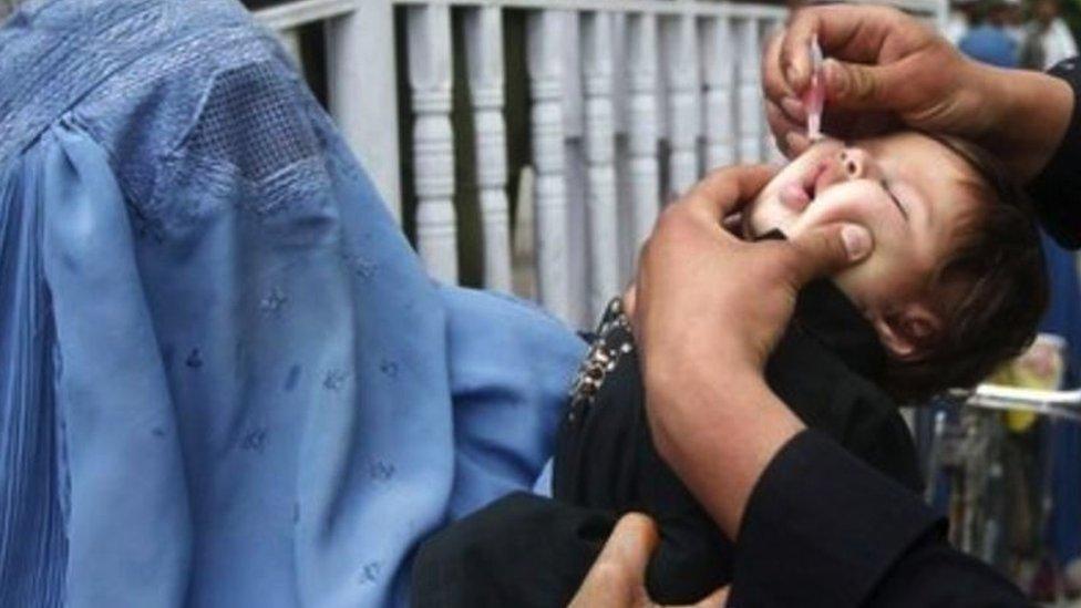 مازال شلل الأطفال مستوطنا في أفغانستان