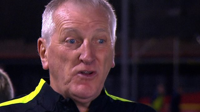 Hartlepool's Ronnie Moore