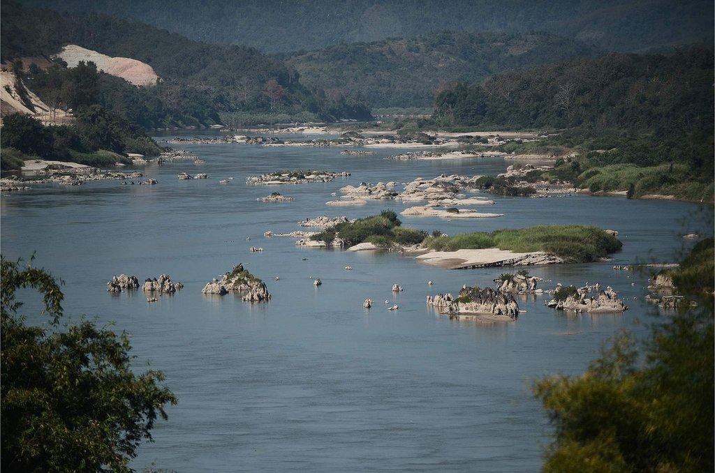湄公河是世界上第十二長河,也是亞洲第七長河。長約4350 公里。