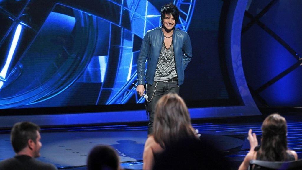 Adam Lambert on American Idol