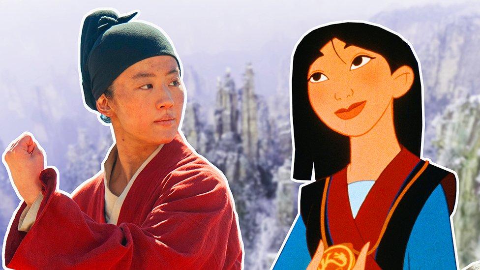 Igrana i animirana verzija Mulan