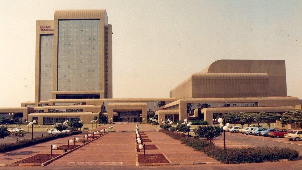 Konresni centar i hotel Šeraton Zimbabve