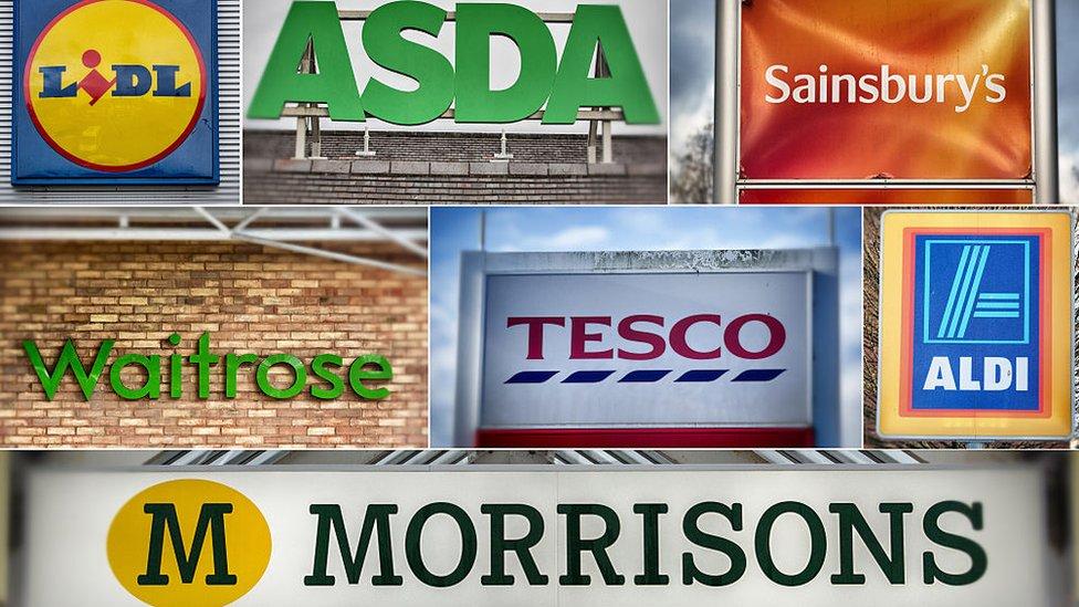 supermarket montage