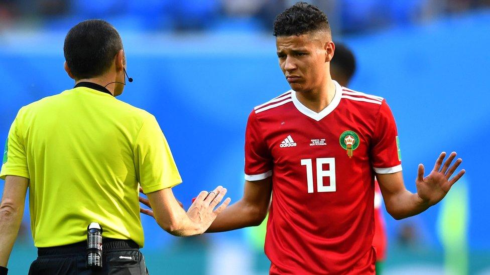 أمين حارص شارك في مباريات كأس العالم 2018