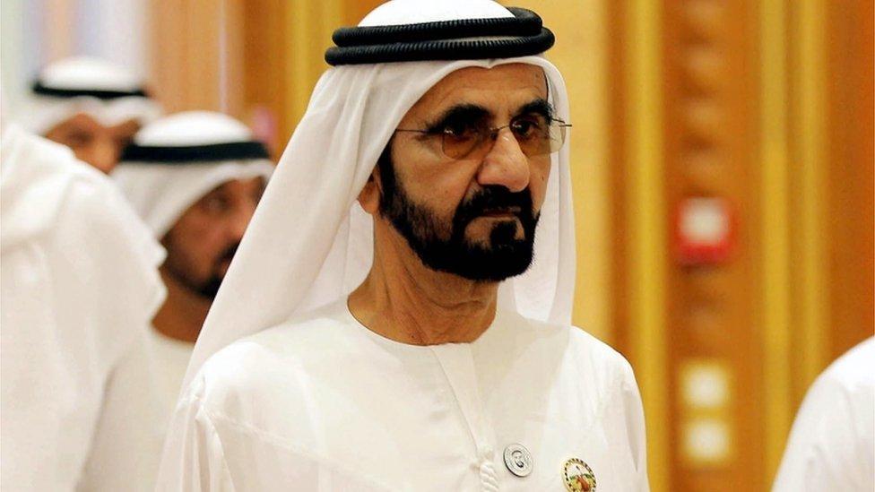 الشيخ محمد بن راشد آل مكتوم له علاقات وثيقة ببريطانيا.