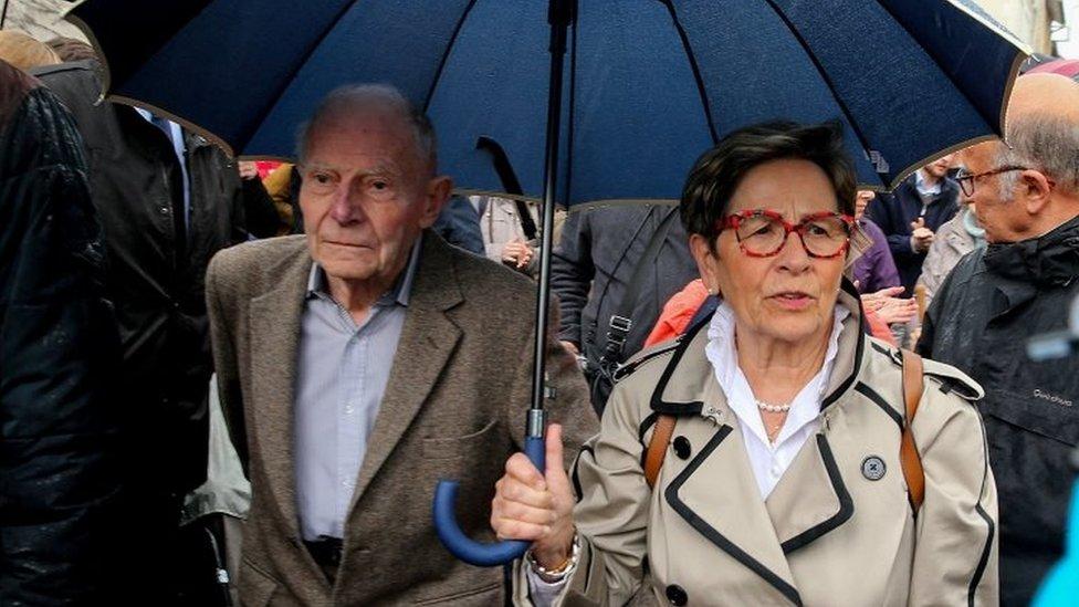 Pierre y Viviane Lambert