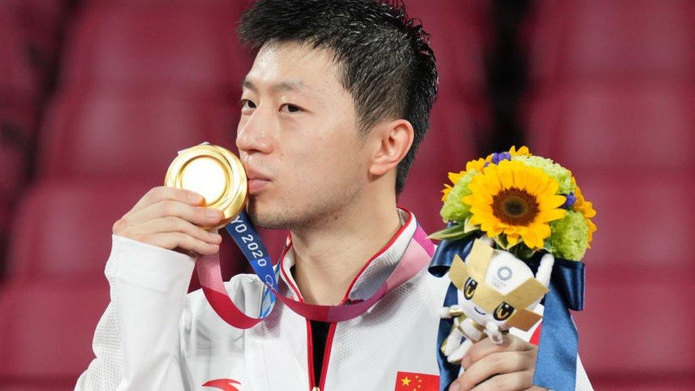 Oro para China en tenis de mesa