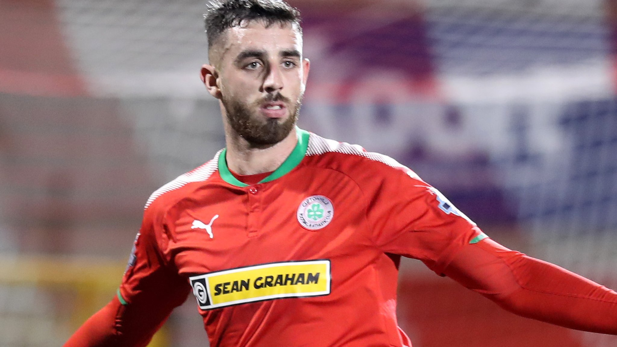 Joe Gormley: Cliftonville manager Barry Gray insists striker is 'not for sale'