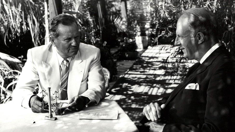 Tito i Meklejn na Brionima