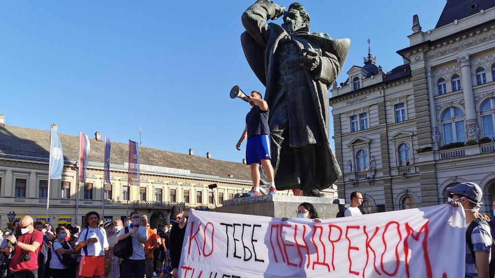 Protest u Novom Sadu