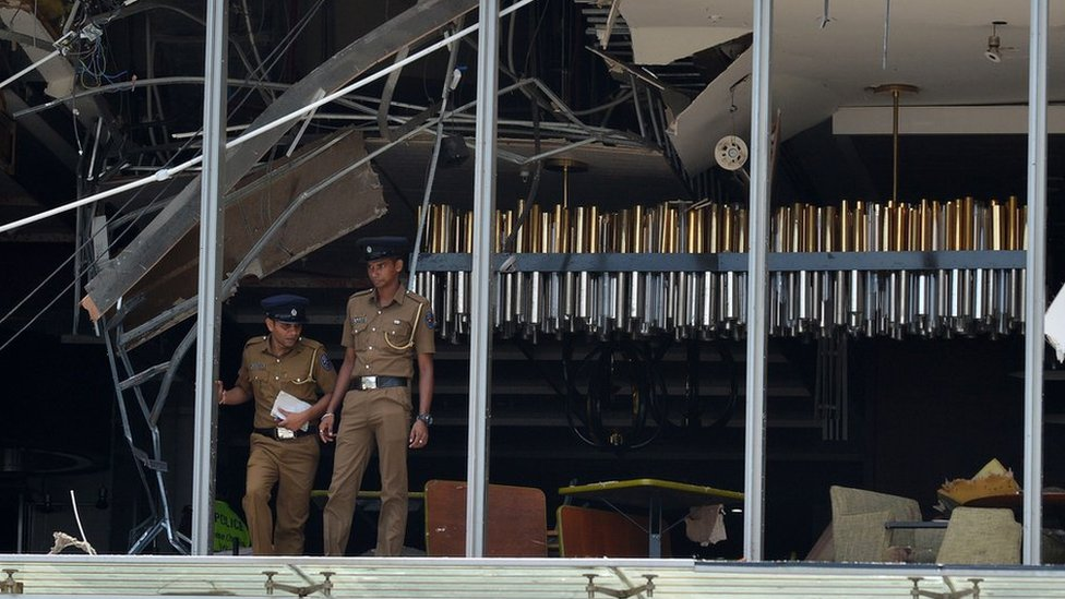 Sri Lanka attacks: Five Britons killed in explosions
