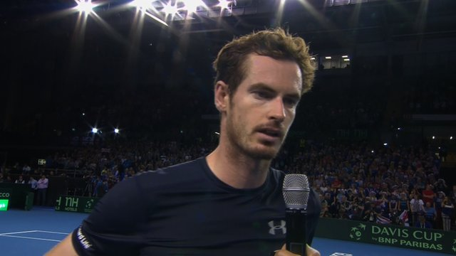 Davis Cup 2015: Andy Murray 'proud' of Davis Cup history