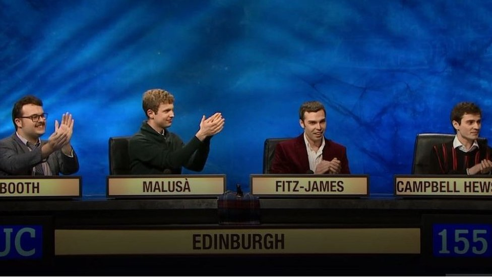 The University of Edinburgh wins University Challenge