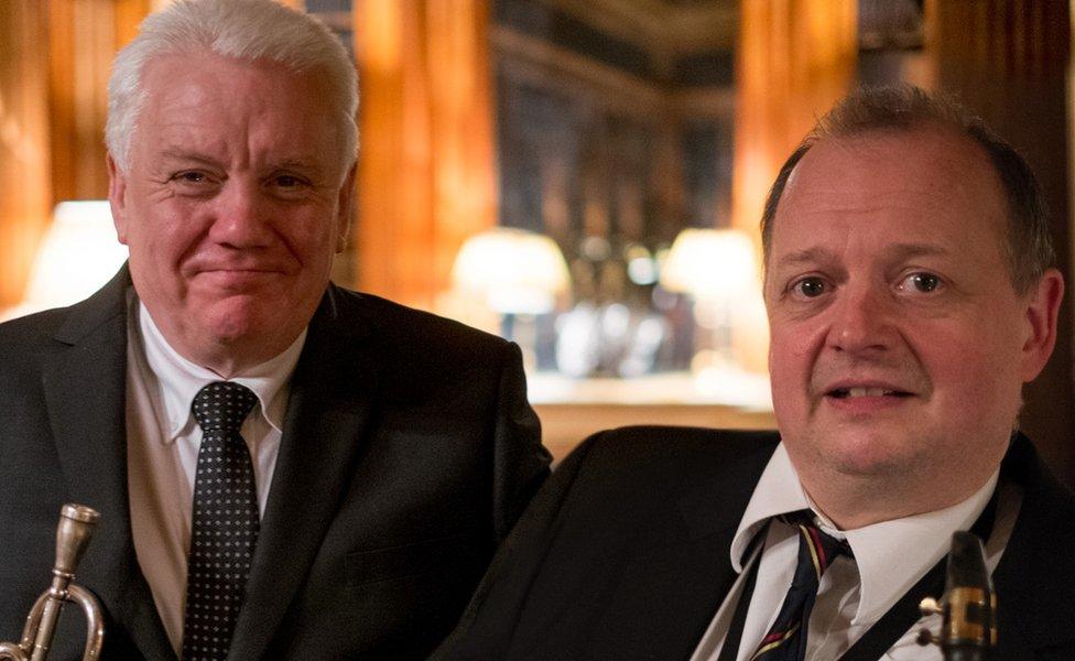 Bruce Adams and Alan Barnes
