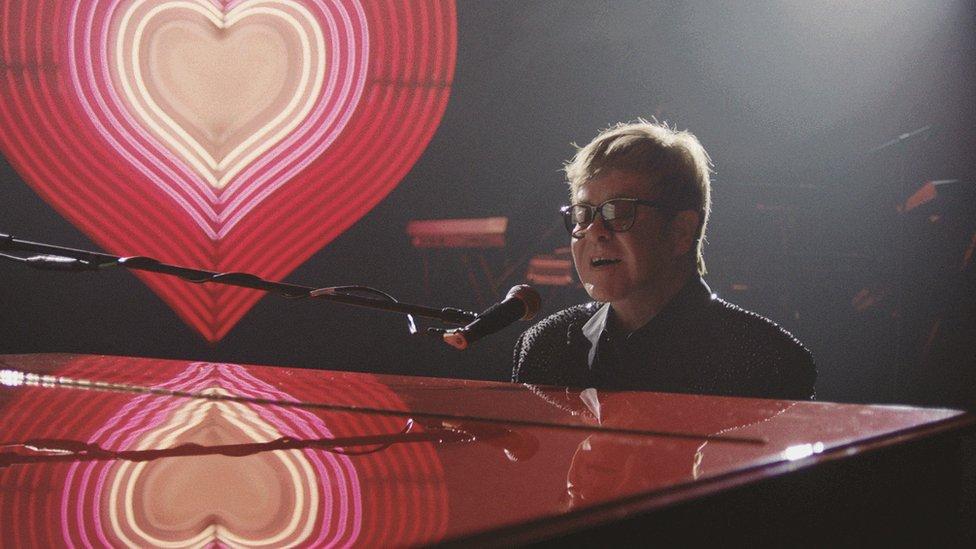 John Lewis's 2018 festive ad featured Elton John