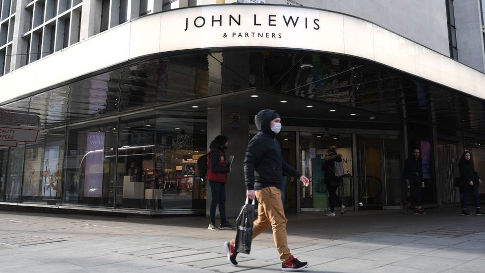 John Lewis suspends click and collect due to virus safety thumbnail
