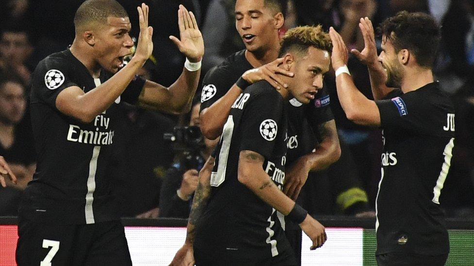 تمتلك قطر للاستثمارات الرياضية نادي باريس سان جيرمان الذي يلعب فيه نيمار
