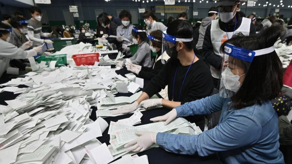 Glasanje u Južnoj Koreji