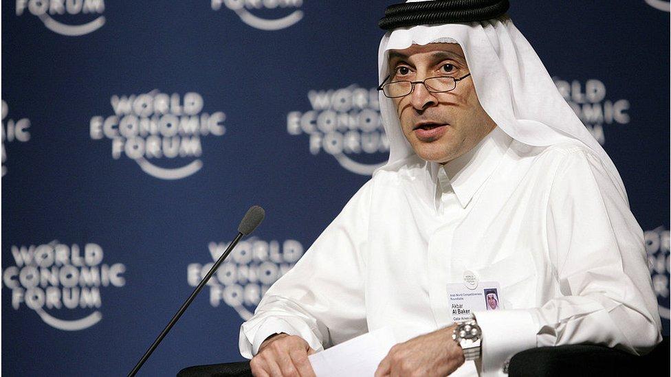 卡塔爾航空集團(Qatar Airways)總裁阿克巴爾·阿爾貝克(Akbar Al-Baker)