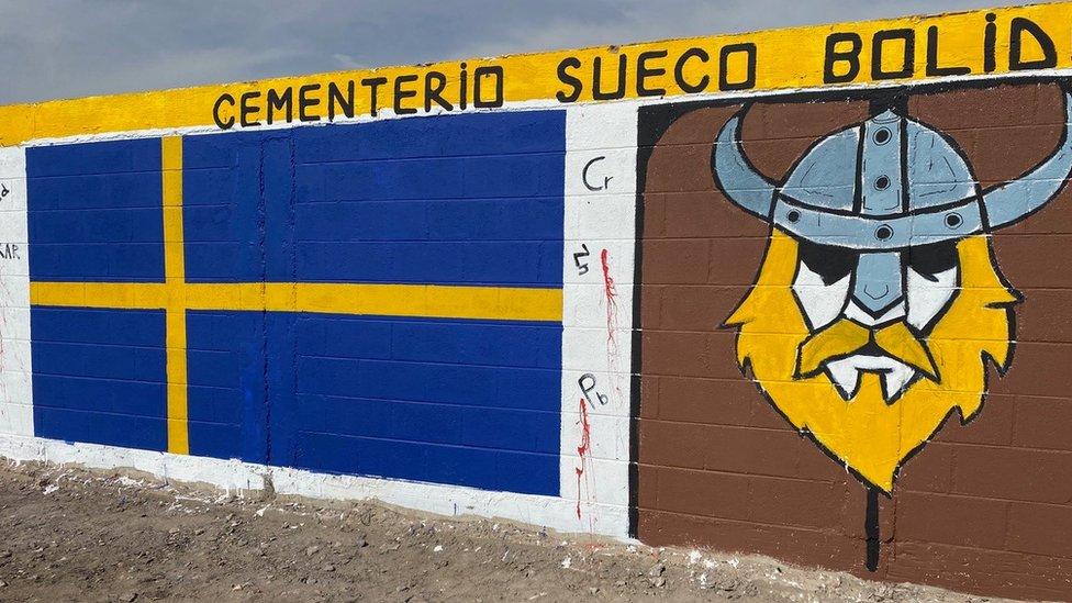 Los metales pesados están en una zona llamada Quebrada Encantada, a unos 650 metros del barrio Cerro Chuño.