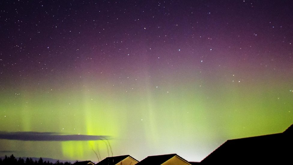 Aurora borealis, Elgin