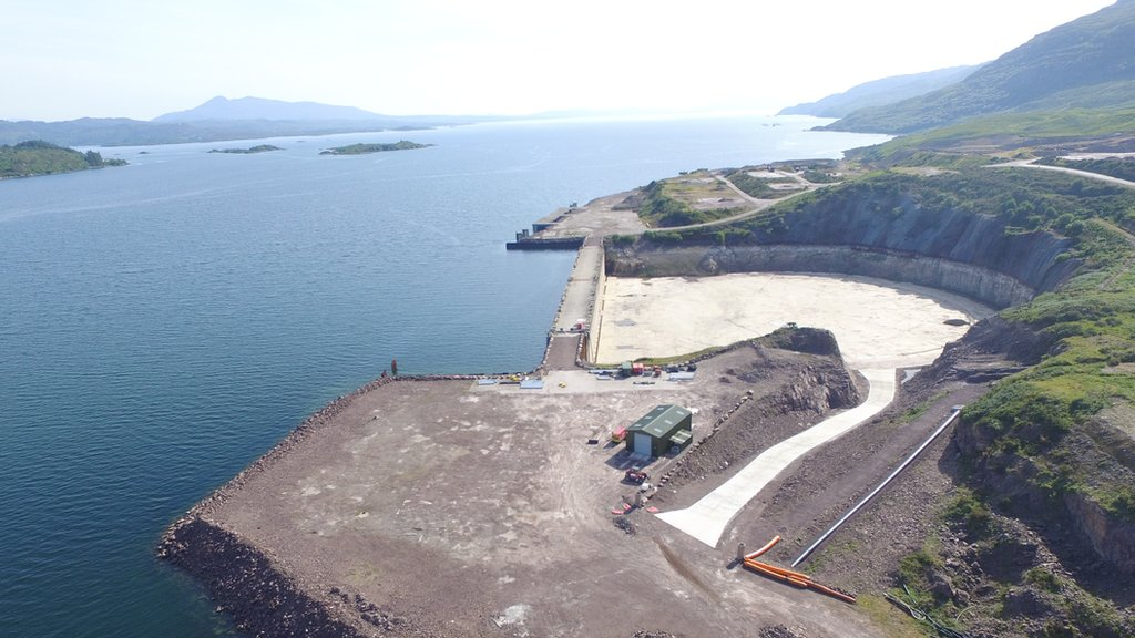 Arc furnace planned for dry dock at Kishorn