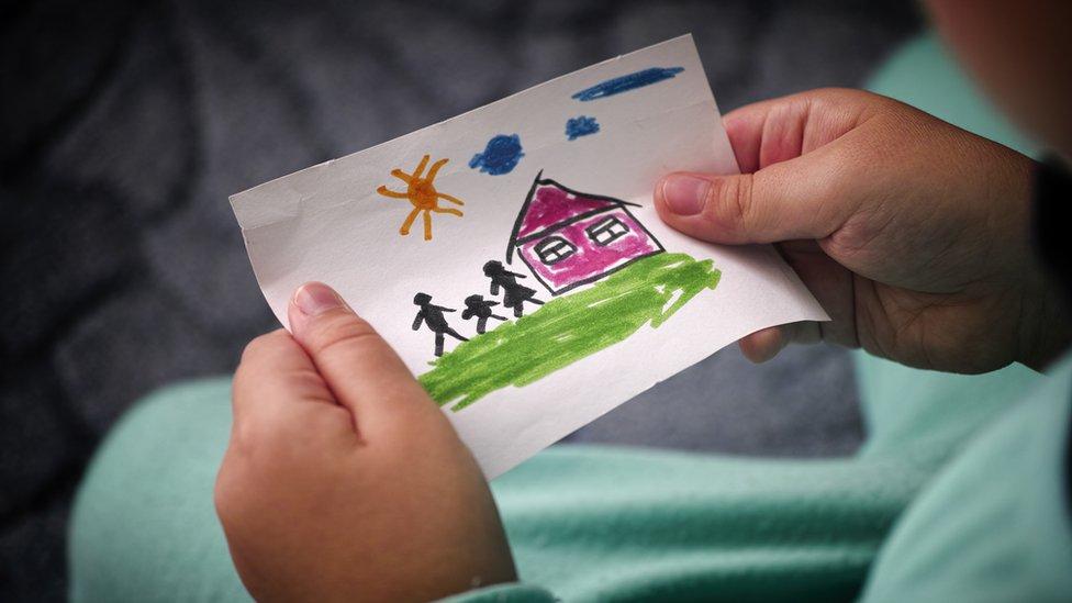 Imagen genérica de un dibujo de un niño.