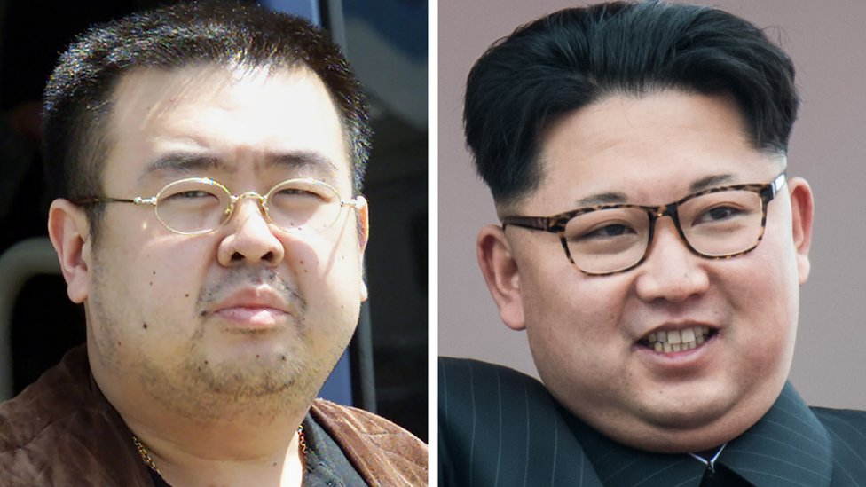 The half-brother of North Korean President Kim Jong-un, Kim Jong-nam, was killed by a nerve agent, according to the US